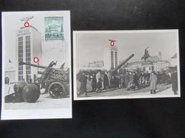 """2x Postkarte Propaganda III. Reich Ausstellung Wien 1940 """"Der Sieg Im Westen"""" - Deutschland"""