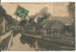 OSSELLE...DOUDS.. Moulin Et Scierie D'Aranthon...G.BILLET Par Osselle....animee... - France