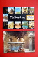 2 X Israel - Auf Den Spuren Jesu - Nazareth - Grotte Der Verkündigung - Palästina - Holy Land - Lieux Saints