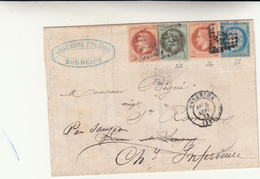 Bordeaux, Cover Mista Impero E Repubblica 1871 - France