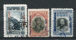 Bulgarien Besetzung Von Rumänien Nr.1, 3 + 4       O  Used               (369) - 1909-45 Königreich