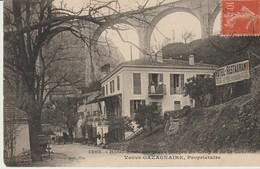 C.P.A. - HOTEL RESTAURANT DES GORGES DU LOUP ET DE LA CASCADE - VEUVE GAZAGNAIRE - PROPRIÉTAIRE - 1303 - GILETTA - Francia