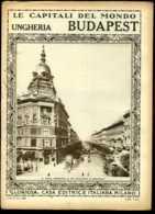 Le Capitali Del Mondo Ungheria Budapest - Ante 1900