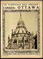 Le Capitali Del Mondo Canadà Ottawa (difetti Angoli) - Ante 1900