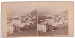 Stereoscopische Kaart  SUISSE. 1887 - Cartes Stéréoscopiques