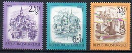 Österreich 1974 - 1978  MiNr. 1441, 1549, 1581  **/ Mnh ; Freimarken: Murau, Villach, Oberwart - 1945-.... 2. Republik