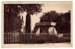 CPSM Saint Nazaire 44 Loire Atlantique Square Du Dolmen Menhir éditeur LL N°217 - Dolmen & Menhirs
