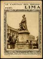 Le Capitali Del Mondo Perù-Lima - Ante 1900