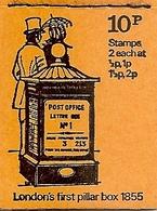 GREAT BRITAIN, Booklet DN 46, 1971, 10p, Feb 71, Mi 31a - Markenheftchen