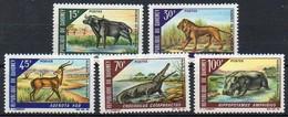 Dahomey 1968  MiNr. 337/ 341  **/ Mnh ; Tierreservat Im Pendjari- Gebiet  I. - Briefmarken