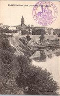 82 MONTAUBAN - Les Quais Vue Prise Du Cours - Montauban