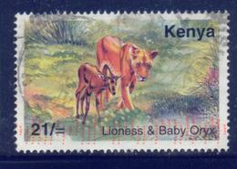 Kenya 2003 Lion 22SH Fine Used - Kenya (1963-...)