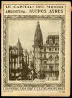 Le Capitali Del Mondo Argentina Buenos Ayres - Ante 1900
