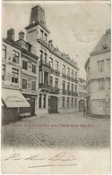 L'Entrée De La Grand'Rue Avec L'Hôtel De La Tête D'Or 1901 - Dinant