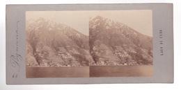 Stereoscopische Kaart :Lago Di Como   Pognana - Cartes Stéréoscopiques