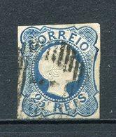 Portugal Nr.6          O  Used           (830) - 1855-1858: D. Pedro V.