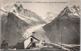 74 CHAMONIX - La Mer De Glace, Vue Pirse De La Flegère - Chamonix-Mont-Blanc