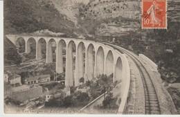 C.P.A. - LES GORGES DU LOUP ET LE VIADUC - 16 - L. NODET - TRAIN - - Frankreich