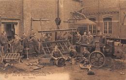 "07821 ""ARTS ET METIERS - ERQUELINNES BELGIQUE HAINAULT - FONDERIE "" ANIMATAI CART. ORIG. SPED 1933 - Industrie"