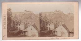 Stereoscopische Kaart : Pyrénées.  Côté Sud De La  Ville De Lourdes - Cartes Stéréoscopiques
