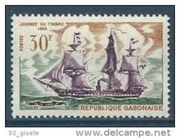 "Gabon YT 233 "" Journée Du Timbre "" 1968 Neuf** - Gabon (1960-...)"