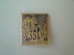 1889 Indochine Yv  2  *  MH    Cote 14.00 € - Neufs