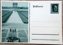 DR Ganzsache 6 Pfg. Hitler Festpostkarte Reichsparteitag Ungebraucht Formation - Deutschland