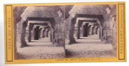 Stereoscopische Kaart :GARD.  Les  Galeries Des Arènes à Nimes - Cartes Stéréoscopiques