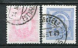 Portugal Nr.62/3          O  Used           (845) - 1862-1884: D. Luiz I.