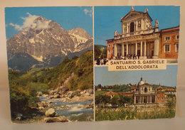 Santuario S. Gabriele Dell'Addolorata (Teramo) Cartolina 1971 - Lieux Saints