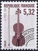France 1992 - Mi 2881A - Y&T 223 ( Musical Instruments : Violin ) MNH ** - Préoblitérés