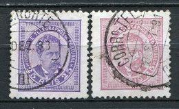 Portugal Nr.63 A + B          O  Used           (846) - 1862-1884: D. Luiz I.