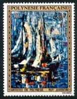 POLYNESIE 1972 - Yv. PA 66 **   Cote= 16,00 EUR - Tableau De Ruy Juventin  ..Réf.POL23615 - Poste Aérienne