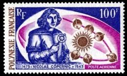 POLYNESIE 1973 - Yv. PA 72 **   Cote= 38,50 EUR - Nicolas Copernic  ..Réf.POL23619 - Airmail