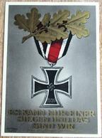 DR Ganzsache 6 + 19 Pfg. Eisernes Kreuz 8. November 1939 Ungebraucht - Deutschland