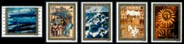 POLYNESIE 1973 - Yv. PA 77 78 79 80 Et 81 ** SUP  Cote= 110,00 EUR - Tableaux D'Artistes Polyn. (5 Val.)  ..Réf.POL23631 - Luftpost