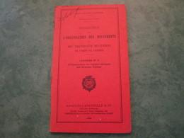 Instruction Sur L'Organisation Des Mouvements Et Des Transports Militaires En Temps De Guerre (annexe N°6-80 Pages) - Livres