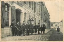 54* LUNEVILLE      8eme Dragons- Poste Police   MA87,0078 - Luneville