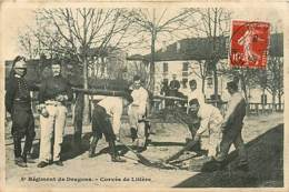 54* LUNEVILLE       8eme Dragons- Litiere  MA87,0080 - Luneville