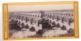 Stereoscopische Kaart : France.   Pont Du Gard - Cartes Stéréoscopiques