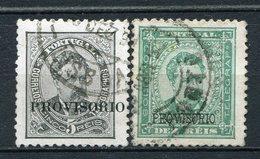 Portugal Nr.78/9         O  Used           (856) - 1892-1898: D. Carlos I.