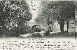 Un Pont Sur La Molignée 1904 - Dinant