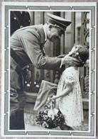DR 1 Ganzsache 6 + 19 Pfg. Hitler Vorderseitig Bild Adolf Hitler Mit Kind - Deutschland