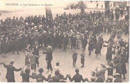 ES FIGUERAS - Las Sardanes à La Rambla - Sardane - Animée - Belle - Gerona