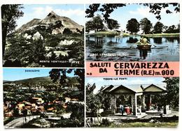 Saluti Da CERVAREZZA TERME (REGGIO EMILIA) - Reggio Nell'Emilia