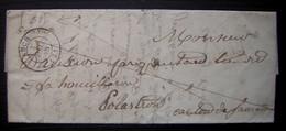 1848 Seissan (gers) Marque 31/ Seissan (cursive) Et Càd De Auch Indice 14 Sur Lettre Pour Polastron ! - 1801-1848: Precursors XIX
