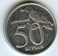 Indonesie Indonesia 50 Rupiah 2001 KM 60 - Indonésie