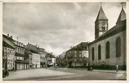 57* SARREBOURG  Place Du Marche  (CPSM Petit Format)           MA87,0314 - France