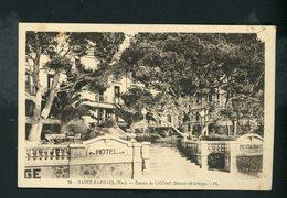 CPA - 83 - St RAPHAEL - ENTRÉE DE L'HOTEL BEAU-RIVAGE - - Saint-Raphaël
