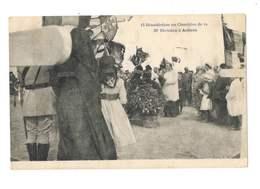 Bénédiction Au Cimetière De La 39e Division à Achain - 73 - Francia